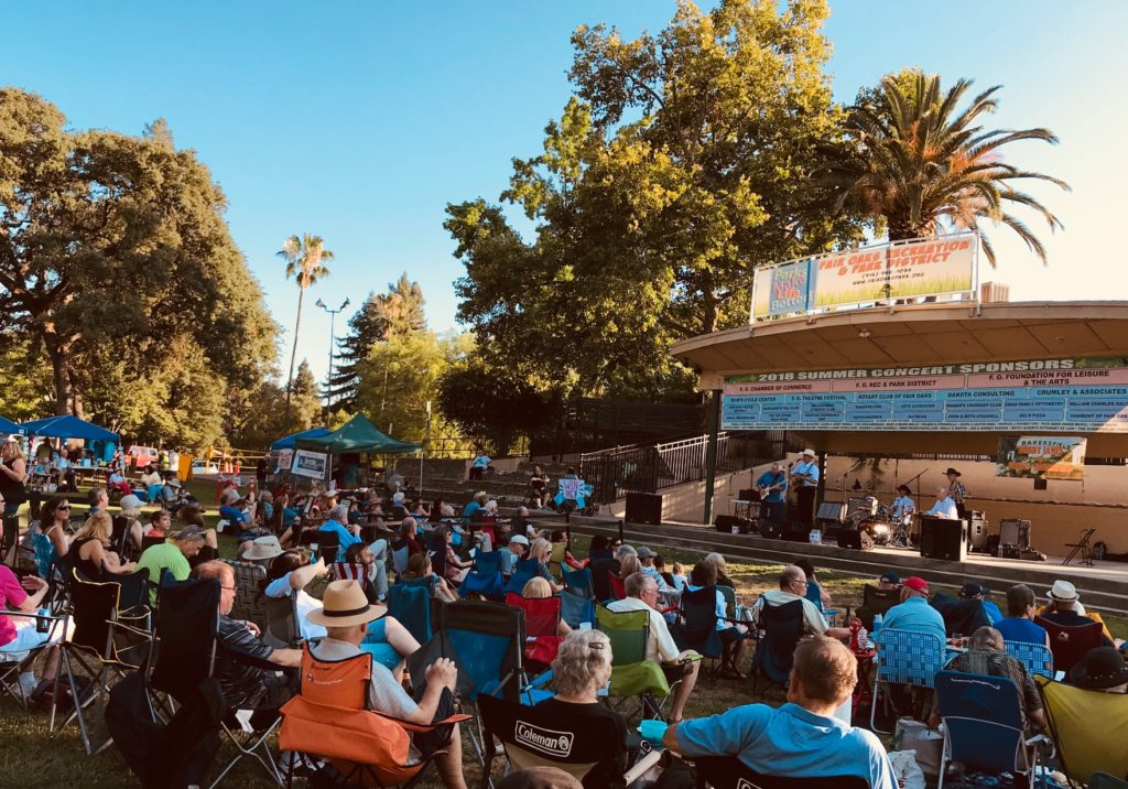 robby james and the streets of bakersfield concert in fair oaks july 2018