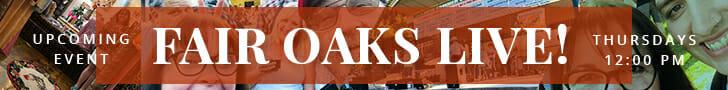 fair oaks live banner