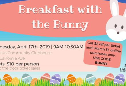 Breakfast with the Bunny flyer