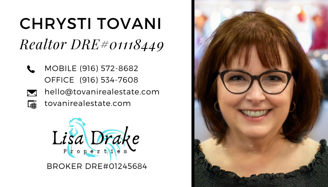 Chrysti Tovani Your Fair Oaks and Orangevale Real Estate Agent