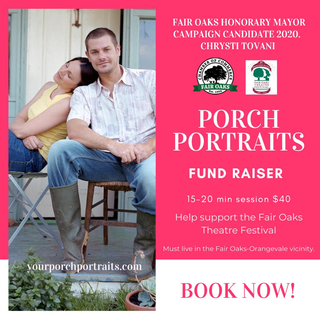 1 porch portrait fundraiser