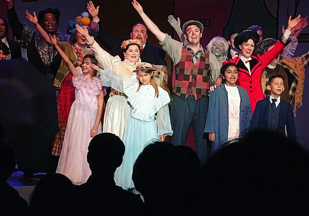 mary poppins in fair oaks theatre festival